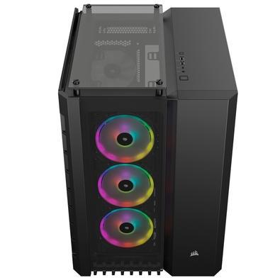 Gabinete Gamer Corsair Crystal Series 680X, RGB, Preto - CC-9011168-WW