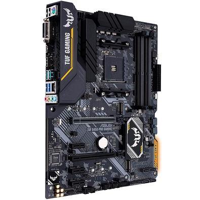 Placa-Mãe Asus TUF B450-Pro Gaming, AMD AM4, ATX, DDR4