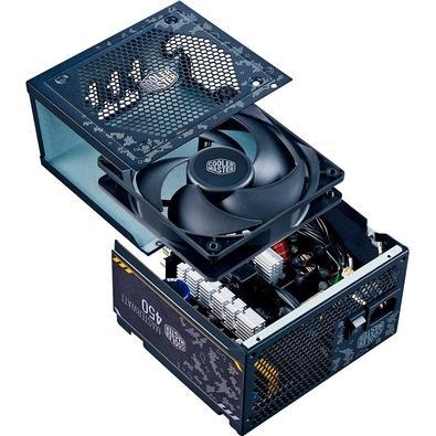 Fonte Cooler Master MasterWatt TUF 450W, 80 Plus Bronze, Semi-Modular - MPX-4501-AMAAB-OF