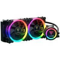 Water Cooler Gamdias RGB com 2 Unidades, 120mm - CHIONE M1A-240R