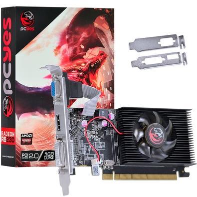 Placa de Vídeo PCYes AMD Radeon R5 230 1GB, DDR3 - PW230R56401D3LP