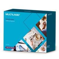Toner Multilaser para HP, Preto - CT010