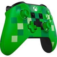 Controle Microsoft Edição Especial Minecraft Creeper, Xbox, Sem Fio, Verde - WL3-00056