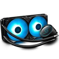 Water Cooler para Processador Deepcool Gammaxx L240 RGB, 12cm, AMD/Intel - DP-H24RF-GL240RGB