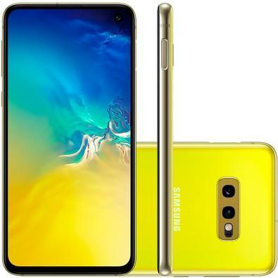 Smartphone Samsung Galaxy S10e, 128GB, 16MP, Tela 5.8´, Amarelo - SM-G970F/1DL