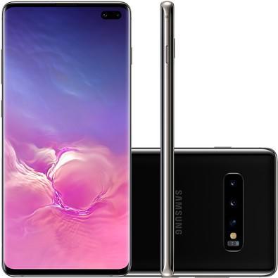 Smartphone Samsung Galaxy S10 , 128GB, 16MP, Tela 6.4´, Preto - SM-G975F/1DL
