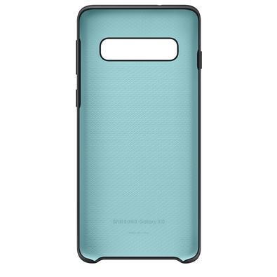 Capa Protetora Samsung Silicone para Galaxy S10, Preta - EF-PG973TBEG