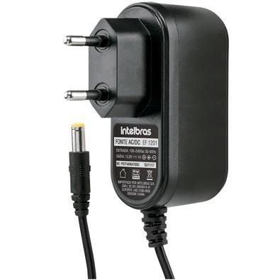 Fonte Intelbras CFTV com Pino 12.8V 1A - EF-1201 4820016