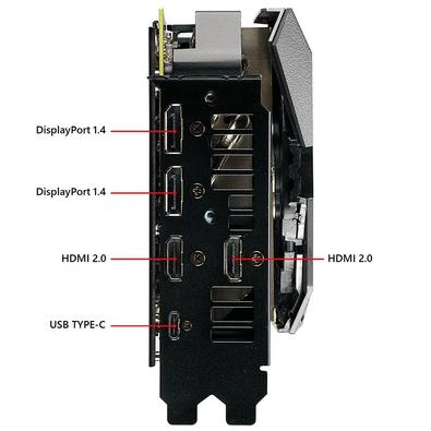 Placa de Vídeo Asus ROG Strix NVIDIA GeForce RTX 2080 Ti 11GB, GDDR6 - ROG-STRIX-RTX2080TI-O11G-GAMING