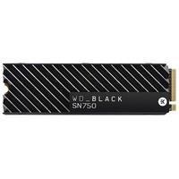 SSD WD Black SN750 Heatsink, 2TB, M.2 NVMe, Leitura 3400MB/s, Gravação 2900MB/s - WDS200T3XHC