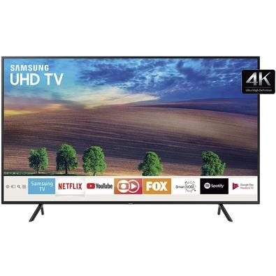 Smart TV LED 50´ UHD 4K RU7100 Samsung, 3 HDMI, 2 USB, Bluetooth, Wi-Fi, HDR - UN50RU7100GXZD