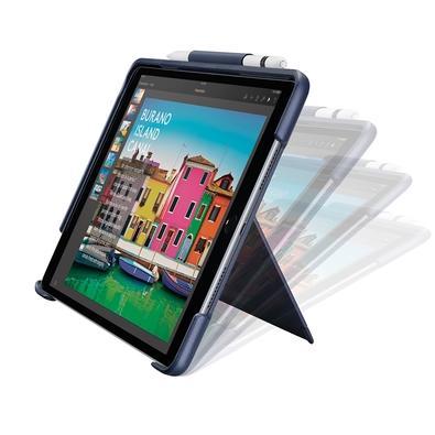 Capa Logitech Slim Combo Com Teclado Iluminado Para iPad Pro 12.9´ Azul - 920-008422