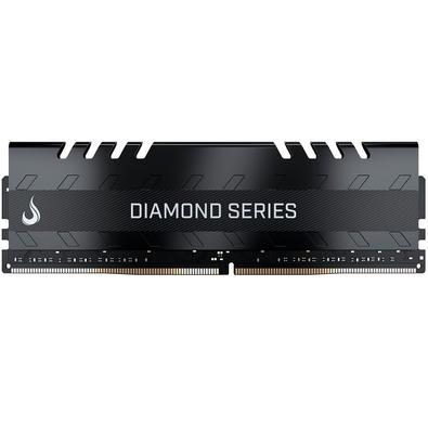 Memória Rise Mode Diamond, 16GB, 2400MHz, DDR4, CL15, Preto - RM-D4-16GB-2400D