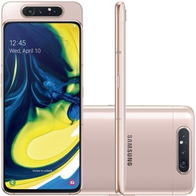 Smartphone Samsung Galaxy A80, 128GB, 48MP, Tela 6.7´, Rose - SM-A805F/1DL