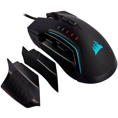 Mouse Gamer Corsair Glaive PRO, RGB, 7 Botões, 18000 DPI - CH-9302211-NA