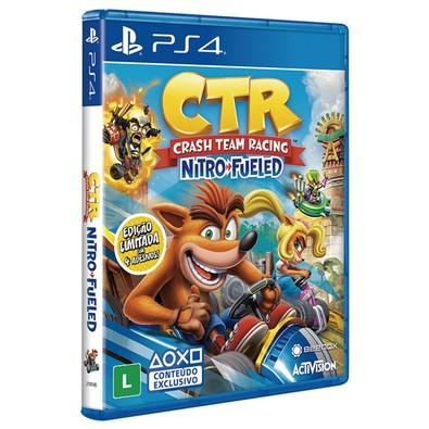 Game Crash Team Racing Nitro-Fueled PS4