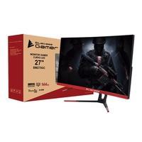 Monitor Gamer Bluecase LED 27´ Widescreen Curvo, Full HD, HDMI/Display Port, FreeSync, 144Hz, 1ms - BM275GC