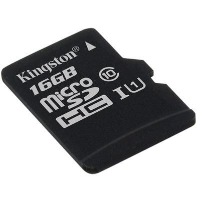 Cartão de Memória Kingston Canvas Select MicroSD 16GB Classe 10 - SDCS/16GBSP