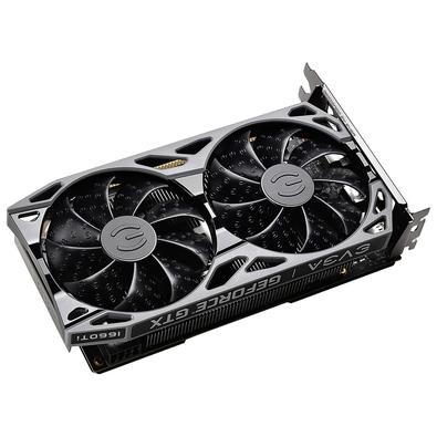 Placa de Vídeo EVGA NVIDIA GeForce GTX 1660 Ti SC Ultra Gaming, 6GB, GDDR6 - 06G-P4-1667-KR