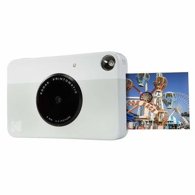 Câmera Instantânea Kodak Printomatic, Cinza - Rodomatic