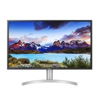Monitor LG 32´ Widescreen 4K, HDMI/Display Port/USB-C, FreeSync, Som Integrado, Ajuste de Altura - 32UL750-W