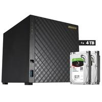 Storage Asustor NAS, 16TB, 4 Baias - AS3204T16000