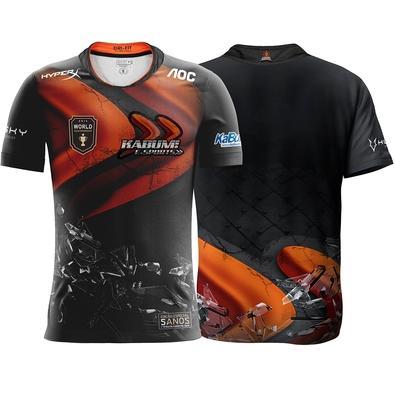 Camiseta Comemorativa KaBuM e-Sports 5 anos do Primeiro Título - Tamanho G