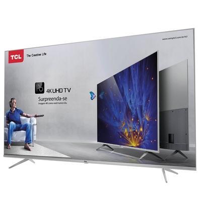 Smart TV LED 4K 65´ TCL P6US, 3 HDMI, 2 USB, HDR - 65P6US
