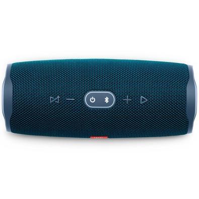 Caixa de Som Portátil JBL Charge 4, Bluetooth, 30W, À Prova D´Água, Azul - JBLCHARGE4BLU