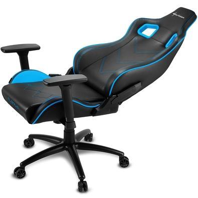 Cadeira Gamer Sharkoon Elbrus 2, Black Blue