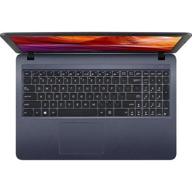 Notebook Asus Core i3-7020U, 4GB, 1TB, Windows 10 Home, 15.6´, Cinza Escuro - X543UA-GO2194T