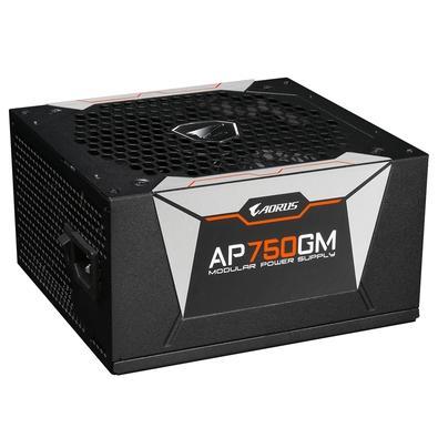 Fonte Aorus 750W, 80 Plus Gold, Modular - GP-AP750GM