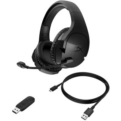 Headset Gamer Sem Fio HyperX Cloud Stinger Wireless, Drivers 50mm, Preto - HX-HSCSW2-BK/WW