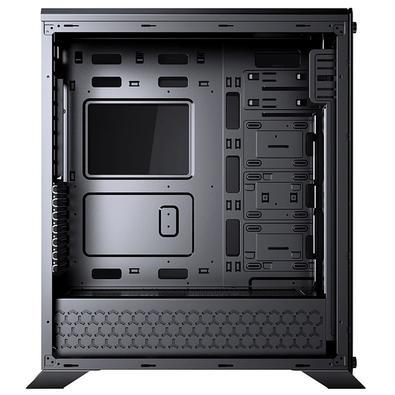 Gabinete Gamer Redragon IronHide Chroma, Full Tower, RGB, Lateral e Frontal em Vidro - GC-801