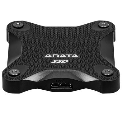 SSD Externo Adata SD600Q, 960GB, SATA, Leitura 440MB/s, Gravação 440MB/s - ASD600Q-960GU31-CBK
