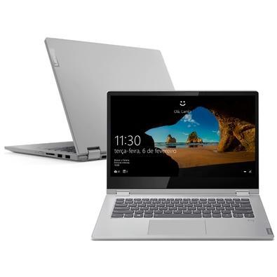 Notebook Lenovo 2 em 1 Ideapad C340, Intel Core i7-8565U, 8GB, SSD 256GB, Windows 10, 14´, Prata - 81RL0003BR