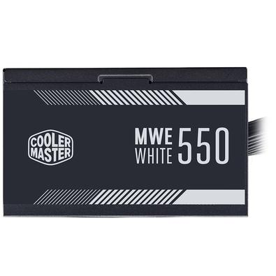 Fonte Cooler Master MWE White V2 550W, 80 Plus Standart - MPE-5501-ACAAW-BR