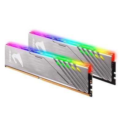 Memória Aorus RGB 16GB (2x8GB), 3200 MHz, DDR4, CL16 - GP-AR32C16S8K2HU416RD