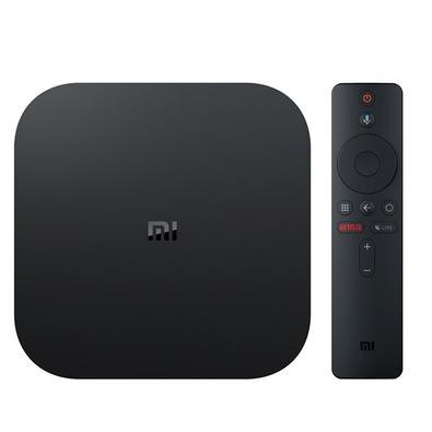 TV Box Xiaomi - XM S EU, Decodificador 4K HDR Android TV 8.1, 4K, 60FPS, Preto - XM338PRE-M
