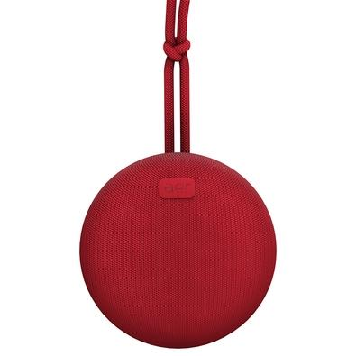 Caixa de Som Portátil Geonav Aerbox sem Fio, Bluetooth, 5W, Resistente à Água, Vermelha - AERCX01R