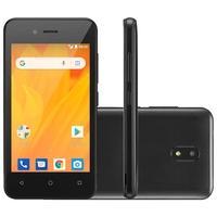 Smartphone Multilaser MS40G, 8GB, 5MP , Tela 4´, Preto + Micro SD 32GB - NB759