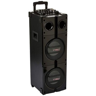 Caixa de Som Amplificada TRC 1000, Bluetooth, USB, LED, 1000W RMS - TRC 1000