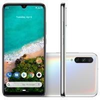 Smartphone Xiaomi Mi A3, 128GB, 48MP, Tela 6.088´, Branco + Capa - CX281BRA