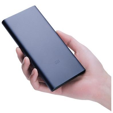 Carregador Portátil Xiaomi 2S, 10.000mAh, Saída 5.1V/2.4A, Preto - XM258PRE