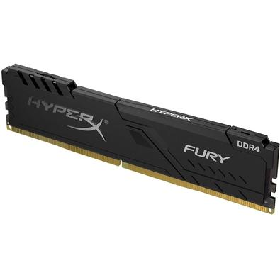 Memória HyperX Fury, 4GB, 3000MHz, DDR4, CL15, Preto - HX430C15FB3/4