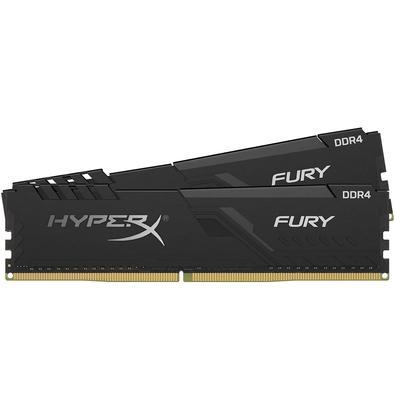 Memória Ram Fury 8gb Kit(2x4gb) Ddr4 3200mhz Hx432c16fb3k2/8 Hyperx