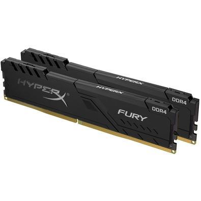 Memória HyperX Fury, 8GB (2x4GB), 3200MHz, DDR4, CL16, Preto - HX432C16FB3K2/8