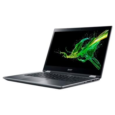 Notebook 2 em 1 Acer Spin 3 Intel Core i7-8550U, 8GB, SSD 256GB, Windows 10 Home, 14´, Cinza Metálico -  NX.H45AL.004