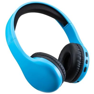 Headphone Bluetooth Multilaser Joy, Azul - PH310