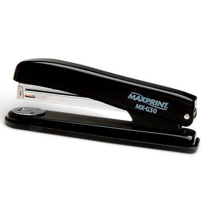 Grampeador Metálico Maxprint MX-G30, 26/6 e 24/6, 30 folhas - 712018
